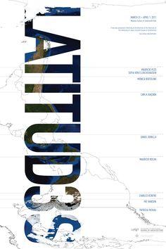 Third annual UTSOA Latitudes symposium poster [2011] #week12 #web5