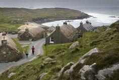 Gearrannan Blackhouse Village, Isle of Lewis, Scotland