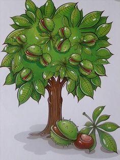 Használja a nyilakat, kapcsoló a lejátszott kép: Autumn Forest, Autumn Art, Diy And Crafts, Crafts For Kids, Paper Crafts, Autumn Activities For Kids, Forest Theme, Preschool Education, Clip Art