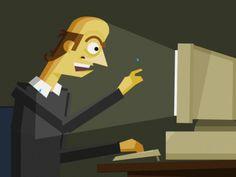 """Job search (Animated GIF)"" by Daniel Burke."