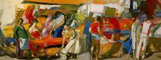 Τέτσης Παναγιώτης-Λαϊκή αγορά ΙΙ, 1981-83