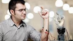 Researchers at Chalmers University of Technology in Sweden have developed the world's first thought-controlled, fully implantable robotic arm, which uses an amputee's own nerves and remaining muscles