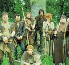 robin hood 1984 | Robin Of Sherwood. This is my all time favorite Robin Hood Series. First time I can rennet seeing Ray Winstone(far left/Will Scarlet).