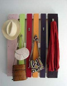 Re-Purpose A Pallet Into A Coat Or Accessory Hanger | Easy Homesteading
