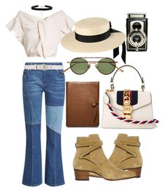 """""""Untitled #667"""" by veronice-lopez on Polyvore featuring Alexander McQueen, Rachel Comey, Yves Saint Laurent, Acne Studios, Mich Dulce, Gucci, Vanessa Mooney, Coach and vintage"""