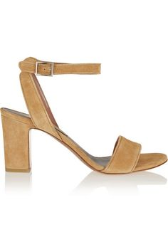Tabitha Simmons Leticia suede sandals #TabithaSimmons