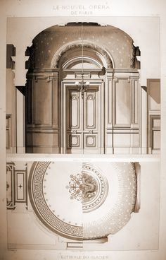 Architecture Drawings, Classical Architecture, Historical Architecture, Architecture Plan, Interior Architecture, Detailed Drawings, Classic Interior, Technical Drawing, Neoclassical