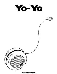best photos of yoyo coloring pages yoyo coloring pages printable coloring page of a yo yo - Coloring Page Yoyo