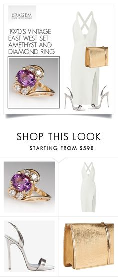 """SHOP - EraGem"" by ladymargaret ❤ liked on Polyvore featuring Mason by Michelle Mason, Giuseppe Zanotti and Nina Ricci"