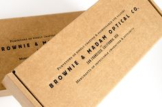 Brownie and Madam // brand development and packaging design by CDA // chendesign.com