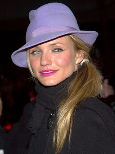 Cameron Diaz, 2002 Cameron stepped out in a chic side pony at the Gangs of New York premiere and made it okay for the rest of us to do the same.