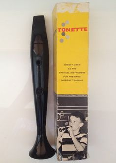 Vintage Tonette, Vintage Toy, Vintage Band, Swanson Tonette, Flute, Photo Prop by CHICaDees on Etsy