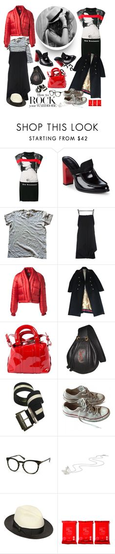 """Great Finds"" by sue-mes ❤ liked on Polyvore featuring County Of Milan, Opening Ceremony, Maison Margiela, Chanel, Gucci, Carven, Yves Saint Laurent, Versace, Converse and Vivienne Westwood"