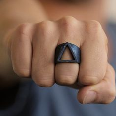 EVBEA Hot Sale Men Rings Vintage Style Geometric Triangle Finger Rings for Men Fashion Black Ring Jewelry Accessories  // Price: $US $3.65 & FREE Shipping //  Buy Now >>>https://www.mrtodaydeal.com/products/evbea-hot-sale-men-rings-vintage-style-geometric-triangle-finger-rings-for-men-fashion-black-ring-jewelry-accessories/  #MrTodayDeal