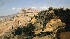 Jean Baptiste Camille Corot Volterra the Citadel Masters of Art: Jean Baptiste Camille Corot (1796   1875)