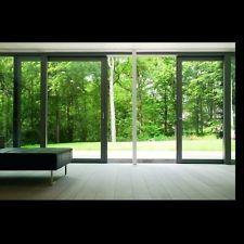 Modern Design, Double Or Tripple Track, Aluminium Patio Doors