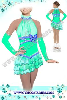 Figure ice skating dress, dance dress  / all colors , all sizes by : www.gymcostumes.com
