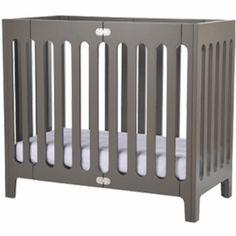 "Bloom Alma Urban Cot/Crib in Frost Grey $350 19.5"" wide"