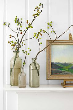 Arrange Crabapple Branches