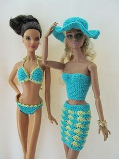 Swim suits for Barbie