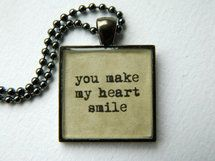 The perfect message for a sweet soul in your life. Love this necklace at such a great price.