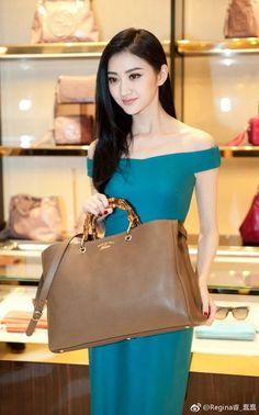 Jing Tian, Korean Fashion, Women's Fashion, Male Celebrities, Chinese Actress, Classy Women, Vintage Stuff, Long Dresses, Indian Beauty