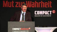 """""""Widerstand auf allen Ebenen"""" – Peter Feist auf der COMPACT-Freiheitskon..."""