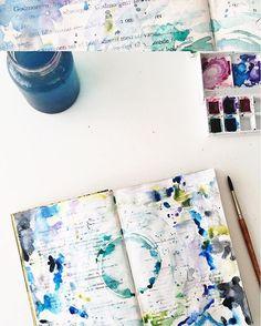 Im A Paper Nerd | Season of Introspection | Get Messy Art Journal