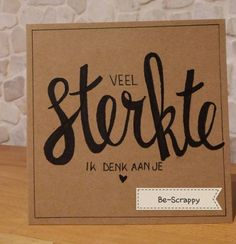 Nr.30 Rouwkaartje gehandletterd #handlettering #bescrappy #project365 Doodle Lettering, Brush Lettering, Project 365, Diy Cards, Stampin Up Cards, Diy Gifts, Diy And Crafts, Doodles, Bullet Journal