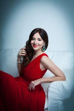 Ukrainian fashion blogger
