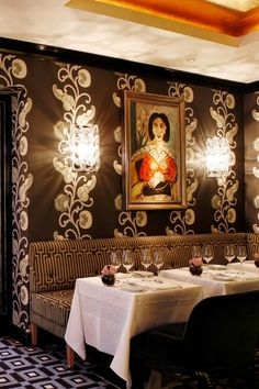 London, UK Chef William Drabble is at the helm of the Michelin-starred restaurant, Seven Park Place. #Jetsetter