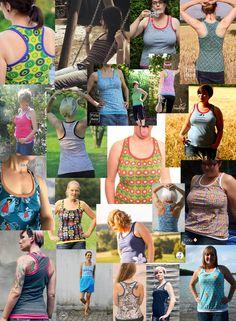 aefflynS - to go: FREEBOOK 'MamaSun' ☼ das Damentanktop mit Racerback