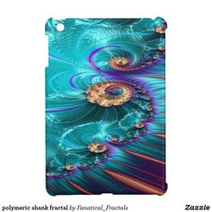 polymeric shank fractal #artwork #abstract #gifts #giftideas #electronics #accessories #zazzle (also available as a phone case)