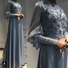 Likes, 2 Kommentare – Fashion Designer🇹🇷Biskad K. Hijab Wedding, Muslim Wedding Dresses, Muslim Dress, Wedding Party Dresses, Hijab Bride, Muslim Brides, Wedding Cakes, Modest Fashion, Hijab Fashion