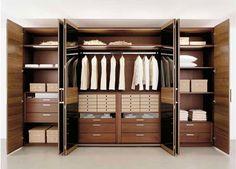 Useful Design Ideas To Organize Your Bedroom Wardrobe Closets 31