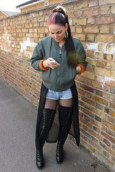 01dbed8ad5c Jasmine F - River Island Thigh High Boots