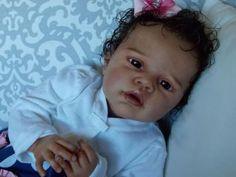 Reborn Baby Newborn Ethnic Doll Girl OOAK Angelina by Romie Strydom
