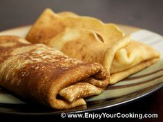 Crepes Stuffed with Apple Recipe.  For some reasons, I always cook a bit too much than we can eat at once, especially when it comes to crêpes.   So there are some times when I am wondering what to do with all those extra crêpes left...