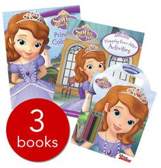 Sofia the First Activity Collection - 3 books (Collection): 9781474810395