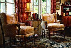 Leslie Elliott Interior Design...love the rich, warm colors.