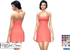 Sims 4 CC's - The Best: Dress by NyGirl Sims