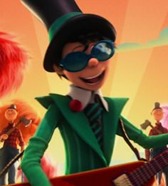 I have to admit, I have this weird crush on the Once-Ler in the new Lorax movie.  Just look at that suit! :)