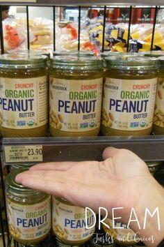 Organic peanut butte