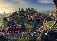 Walt Disney Imagineering Shares First Onboard Video of Seven Dwarfs Mine Train at Magic Kingdom Park