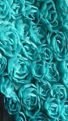 Turquoise color is greenish light blue color. To relieve mental fatigue, it is recommended to use turquoise color abundantly because of its calm and relaxing nature. Tiffany Blue, Verde Tiffany, Azul Tiffany, Shades Of Turquoise, Shades Of Blue, Love Blue, Teal Blue, Teal Flowers, Pretty Flowers