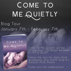 Come to Me Quietly is out & the blog tour has begun!