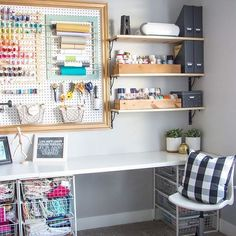 Finally cleaned up my craft room for a fun crafthellip