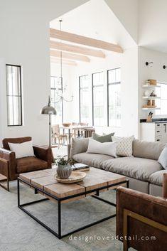 #EuropeanOrganicModern: New Home, Family Room Reveal!