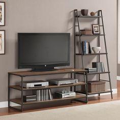 Hierro forjado de estilo americano industria europea LOFT LOFT con escalera TV gabinete retro de madera a hacer el viejo muebles de hierro forjado(China (Mainland))