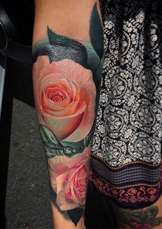 Rsoe falarm tattoo - 100  Meaningful Rose Tattoo Designs  <3 <3                                                                                                                                                                                 More